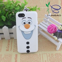 Unique custom made artifact gift silicone phone case for iphone 5s
