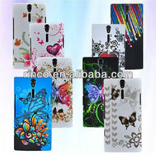 New Flower Hard Case for Sony Ericsson Xperia S Arc HD LT26i Nozomi