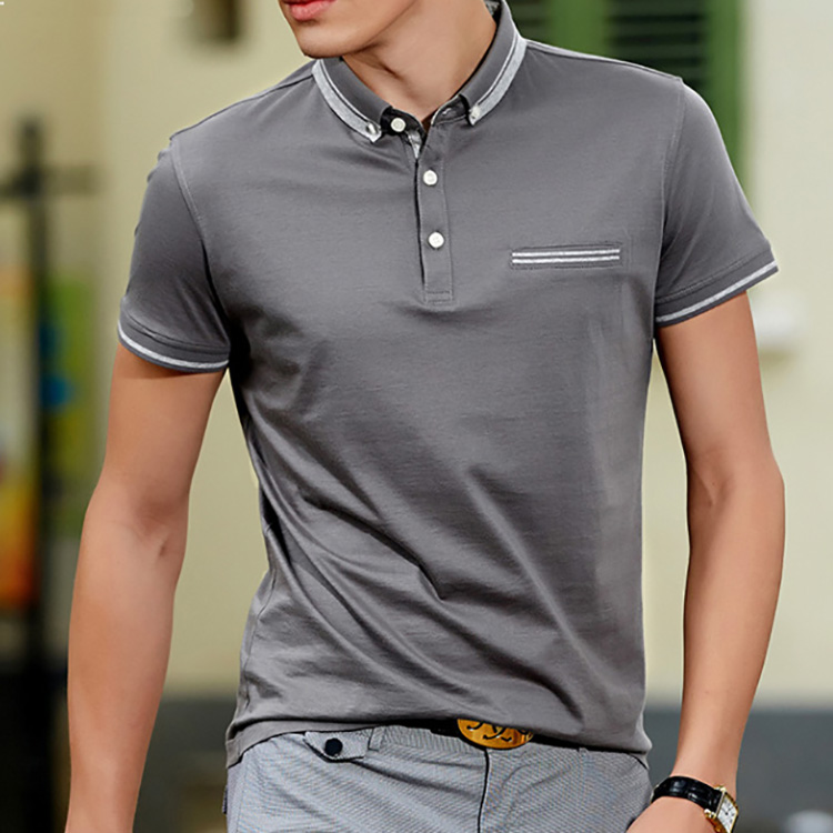 Manufacturers Polo-shirt Blank high quality Polo-shirts cotton men T shirt