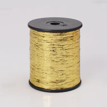 multicolor m type metallic yarn factory wholesale 100 metallic yarn for knitting