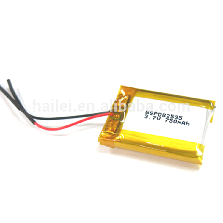 GSP082535 3.7V/750mAh Polymer Lithium-ion Bttery/Bluetooth Ear phone batteries/Electric Power Tools