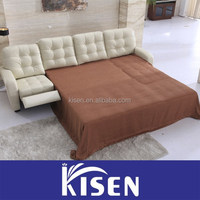 Foshan manufacturer of recliner sectional custom leather sofas