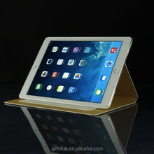 For iPad air 2 diamond PU leather case with stand function for Apple iPad 6 White