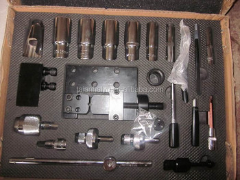 made in china,diesel injector dismantle tool with 23 pcs,CE/ISO