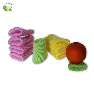 High Quality Colorful Foam Fruit Protective Packaging Netting EPE Bag Mesh Sleeve