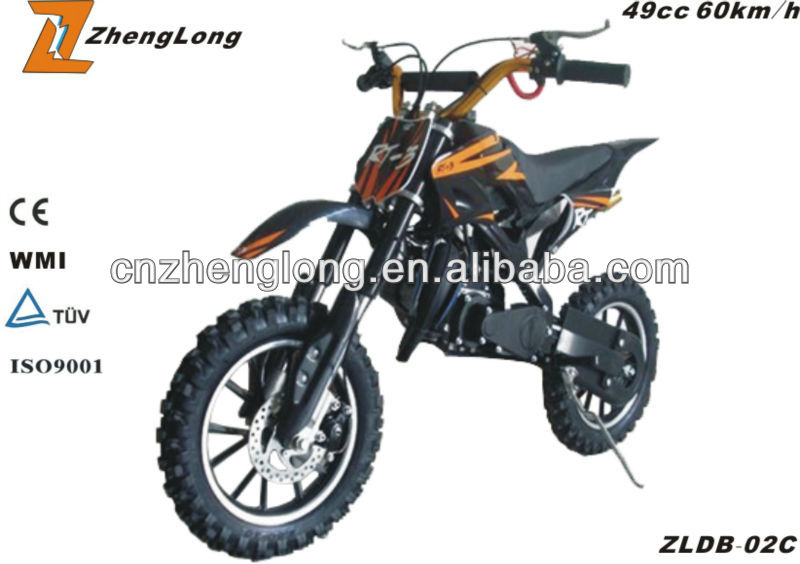 49cc dirt bike motorcycles made in China zhejiang