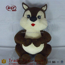 custom stuffed plush squirrel toys/plush toy squirrel