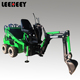 taian factory 860kg cheap backhoe loader wheel mini skid steer loader with backhoe attachment