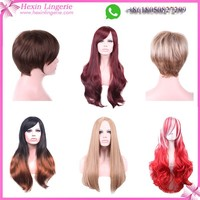 Wholesale Cheap High Quality Front Full Lace Synthetic Wig