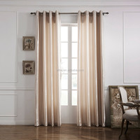 Solid Color Thermal Insulated Blackout Curtains Solid Color Drapes Modern Window Curtain For Bedroom