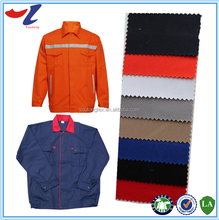 Oil Water Repellent Flame Resistant Cotton Fabric For Safety Coverall