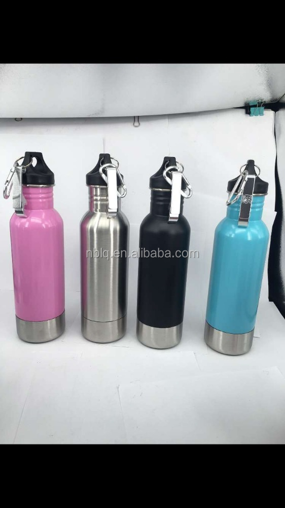20OZ Stainless Steel Beer Bottle Insulator/insulated beer bottle holders with opener