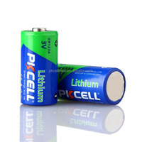 Best quality digital camera battery cr123a 3v battery lithium