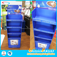 OEM pp sheet book display shelf