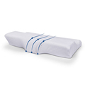 Contoured Memory Foam Bamboo Pillow Eyelash Butterfly Shaped Pillow Anti Snore Fibre Pillow For Eyelash Extension Sleeping