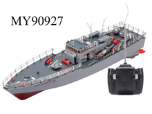 4CH Infrared RC War Battle Ship With Gyro ,rc torpedo boat for children