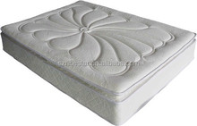 Comfort Pillow Top Natural Latex Foam Spring Mattress for Home Furniture