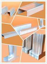 high quality c channel metal stud sizes/gypsum drywall metal stud/dry wall metal stud sizes for partition