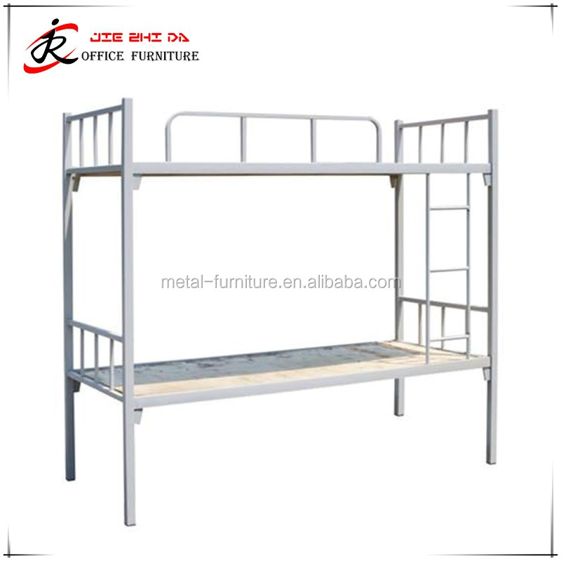 High quality Double deck bed / Hotel Hostels Cheap Metal Bunk bed