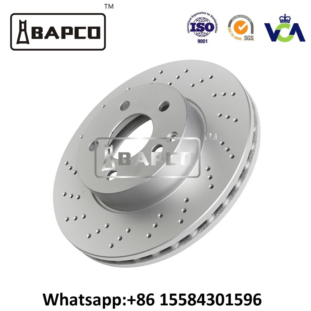 Auto part racing brake disc OEM 34211162315 with low price