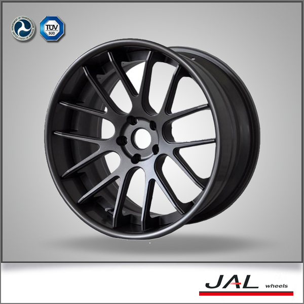 Aluminum Alloy Car Wheel Rims, OEM Design 3 Piece Forged Wheel