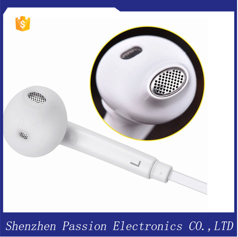 Top Quality S6 Earphone Headphones For Samsung Galaxy S6 Edge S5 S4 S3 Note 3 4 Note3 Note4 I9500 I9600 I9800 Headset!