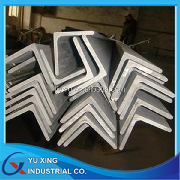 Q235/SS400/ASTM A36 zinc coat galvanized steel angle