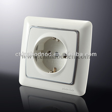 1gang 2 gang french wall switch/2 gang wall gang socket switch high quality hot sale