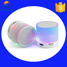 Outdoor Portable LED Light Stereo Wireless Bluetooth Speaker 2016 With FM For Party