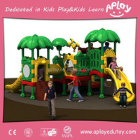 Children Outside Play Structures Garden Playground Equipment