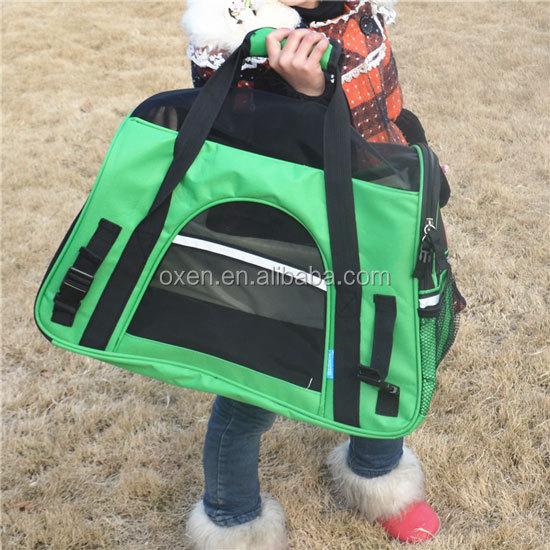 "OxGord Pet Carrier Soft Sided Cat / Dog Comfort ""FAA Airline Approved"" Travel Tote Bag - 2015 Newly Designed, Small,"