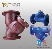Ductile iron water filter strainer for water supply