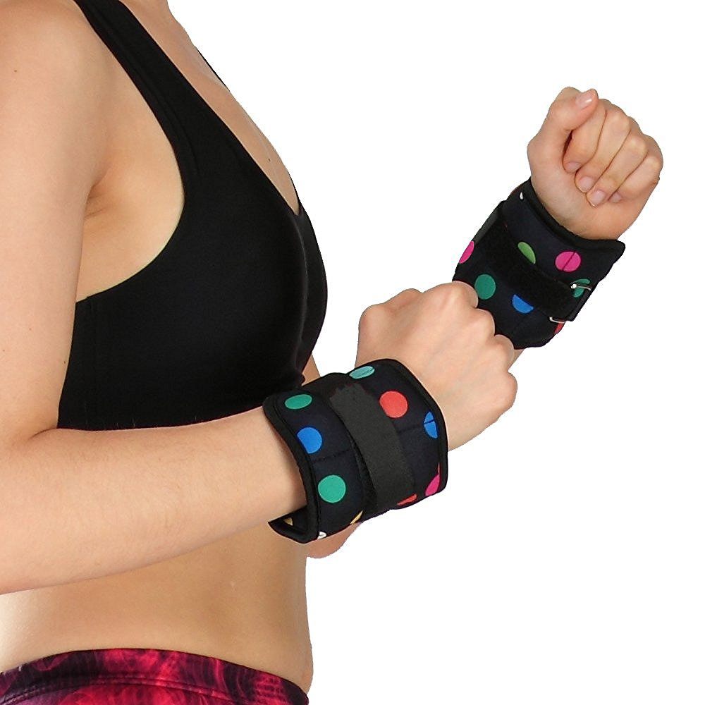 Adjustable Velcro Strap Fit Ankle Weight or Wrist Weight Sets