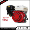 5.5hp OHV Small 4 Stroke Gasoline Engine 168f-1 For Water Pump