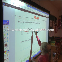 "82"" School interactive finger touch screen whiteboard for classroom smart learning"
