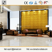 wave textured wall panel used for Club decoration