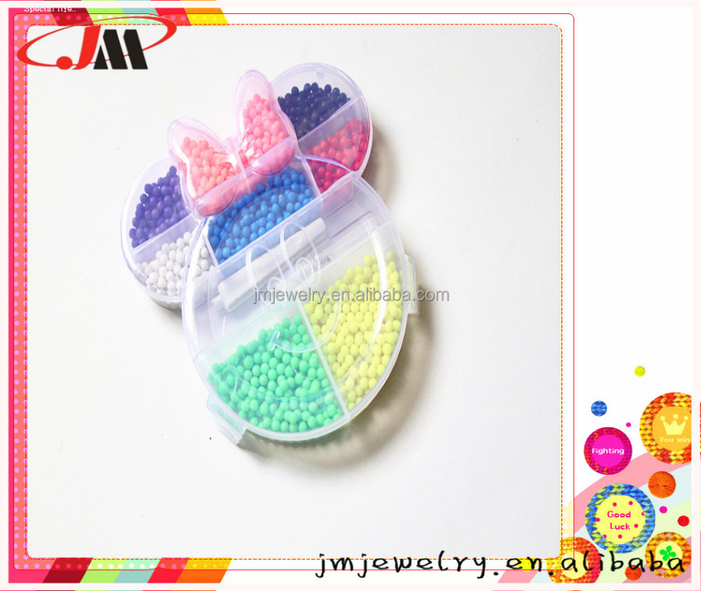 2017 Hot Selling Funny DIY Toys for Kids 5mm perler beads kit for DIY toy