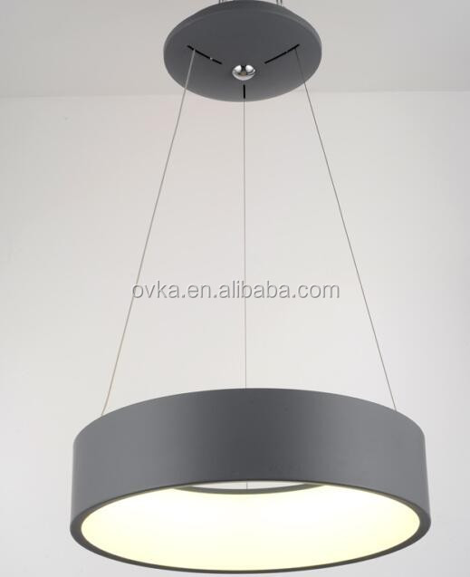 Led moderno anillo de led lámparas y luces colgantes para comedor ...