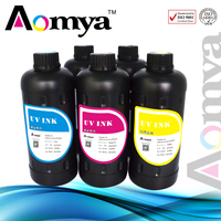 Brilliant color performance super low viscosity uv led ink for Epson