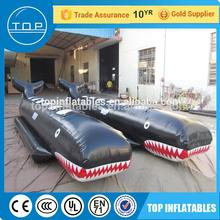Guangzhou supplier inflatable banana fishing boat floating water games made in China