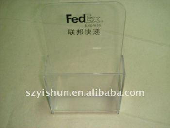 Transparent Acrylic brochure holder
