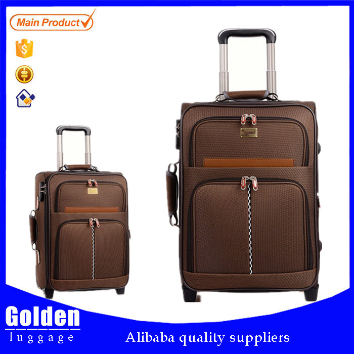 polyester luggage bag cheap price for India and mid-east country