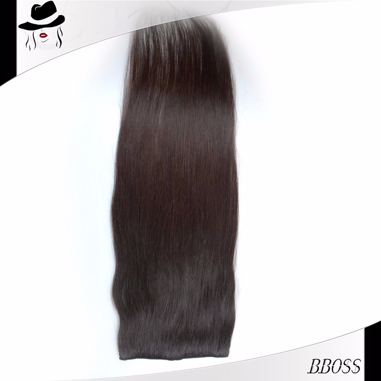 Good Prices 8 inch clip-in human hair extensions images how to apply