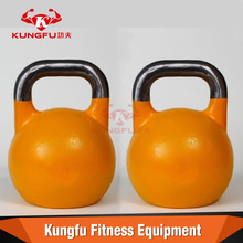 Smooth and comfortable cast iron competition kettlebells