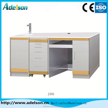 Lab dental cabinet with golden strip make your clinic comfortable and royal ADS J101