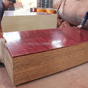 bamboo made 8 mm building plywood/concrete formwork panel