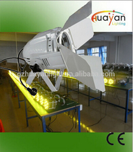 2016 museums & galleries lighting equipment 36*1W white&warm white led par can lights with barn door
