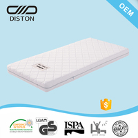 2017 zipper-off non-spring memory with foam inside, modern compress and roll up mattress