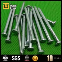 electro galvanized steel twist concrete nails 45# concrete steel nails