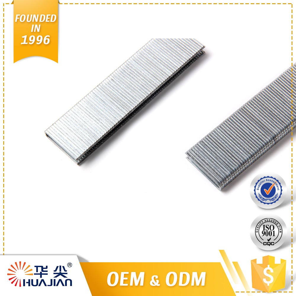 Wire Nails Price In India 15mm Fine Galvanised 5.7mm Crown 18 Ga 90 Staples